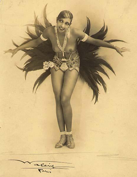 Josephine Baker in costume
