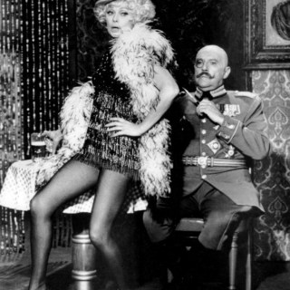 Lucille Ball as Marlene Dietrich