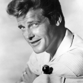 Roger Moore with Clint Eastwood Hair, 1960s