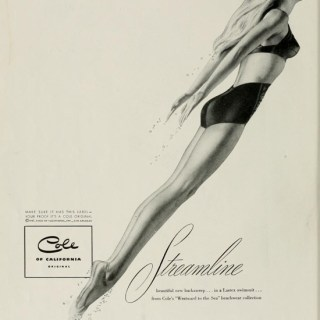 Vintage swimwear: Stunning 1940s Cole of California bikini (maybe?)