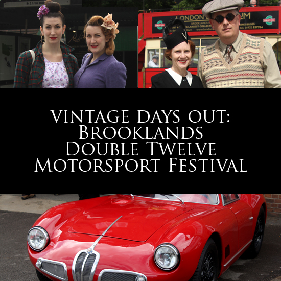 Vintage days out: The Brooklands Double Twelve Motorsport Festival