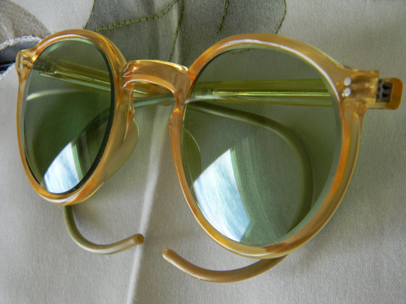 Vintage A.O.American Optical Safety Sunglasses 1940s
