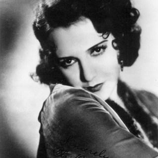 Silent movie star Bebe Daniels