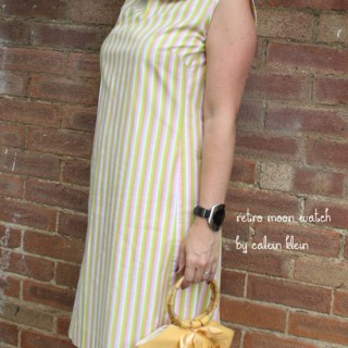 My vintage: striped sixties sundress