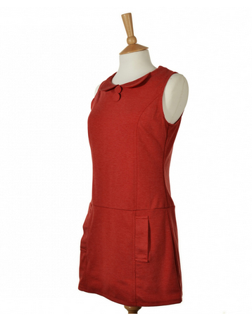 1960s style Twiggy shift dress