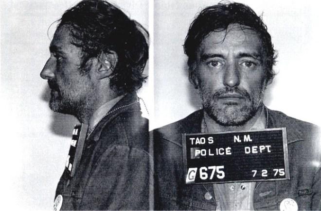 Celebrity mugshots: Dennis Hopper