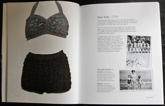 Book review: Vintage Swimwear Patterns: Historical Patterns and Techniques