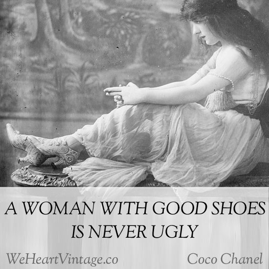 Quotes Coco Chanel On Shoes
