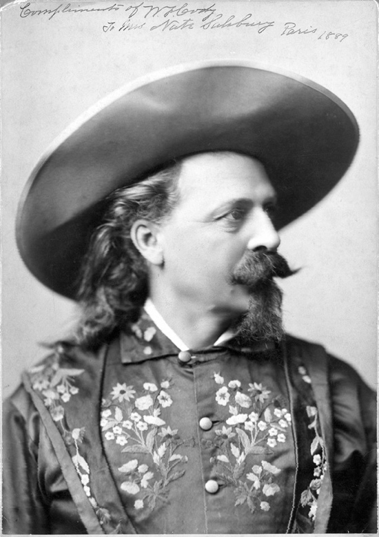 Colour vs re-colour: Buffalo Bill in a flowery coat