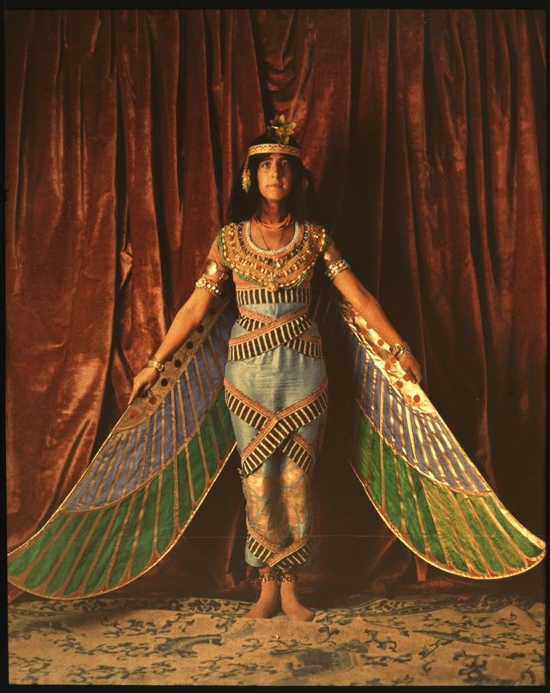 Vintage dancer in Egyptian costume, 1915