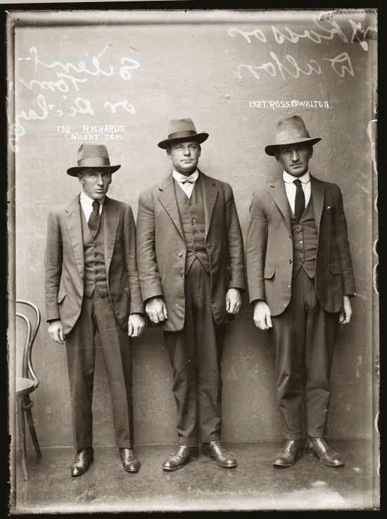 Vintage criminal mug shots 1920s and 1930s