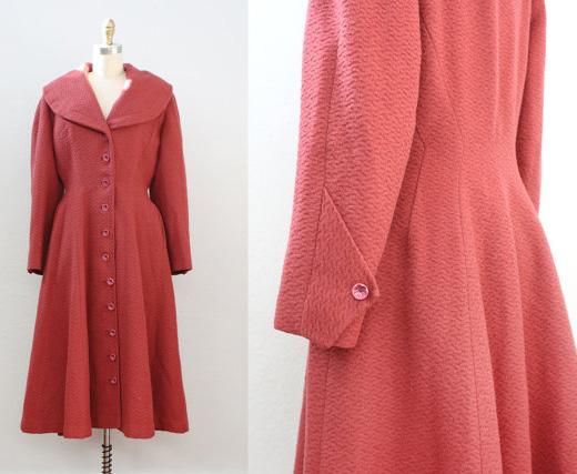1950s Princess Coat