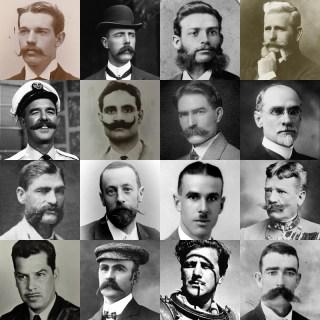 Movember (vintage style)