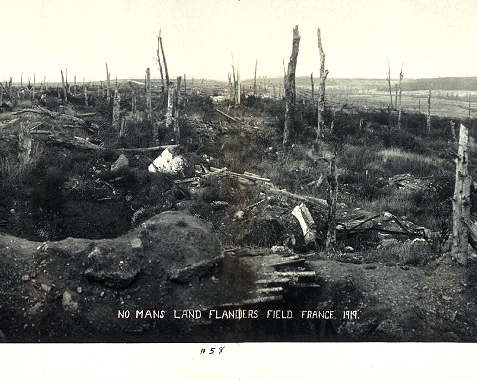 Flanders Field No Mans Land