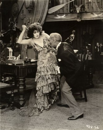 Theda Bara in She Devil, 1818