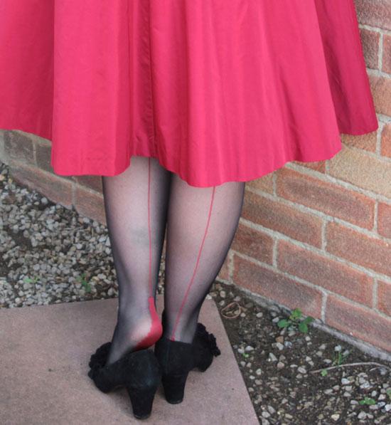 Seamed tights