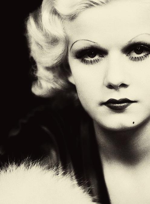 Jean Harlow 1930s Peroxide Blonde