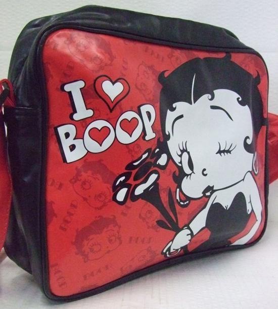 Betty Boop Messenger Bag