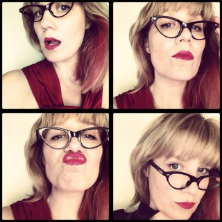 Specsy Fun in Vintage Glasses