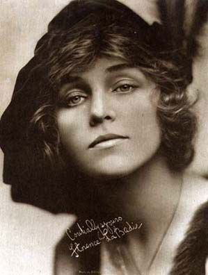 Silent Movie actress Florence LaBadie