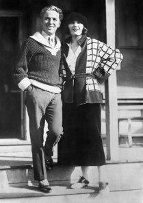 Pola Negri and Charlie Chaplin