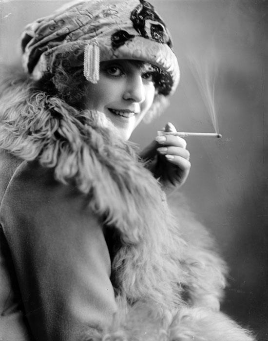 Silent Movie actress Sigrid Holmquist
