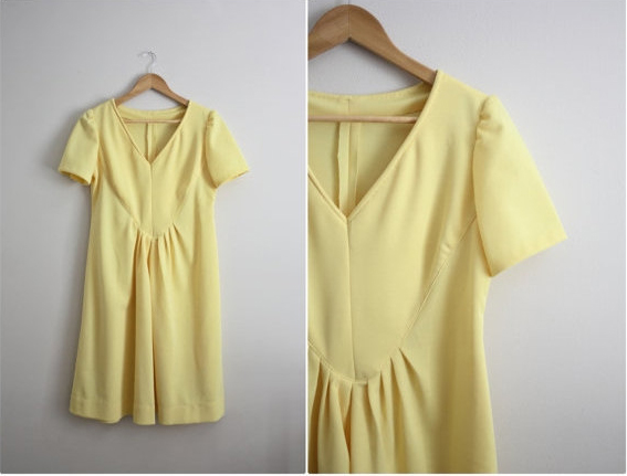 Vintage My Happy Sunshine Dress