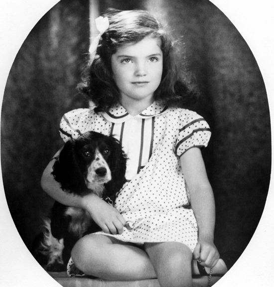 Jackie Kennedy young