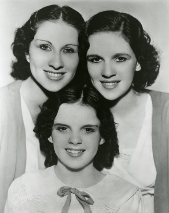 The Gumm (Garland) Sisters