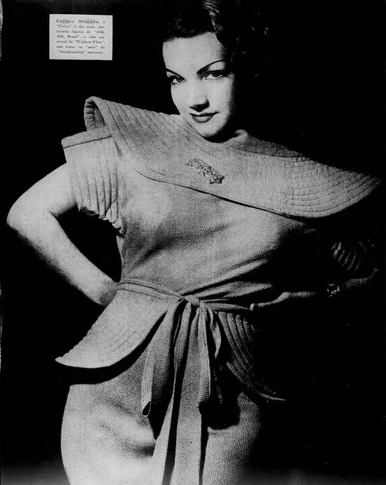 Young Carmen Miranda 1930s