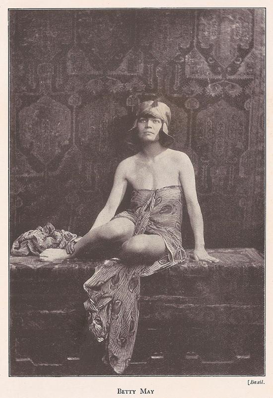 Betty May Tiger Woman