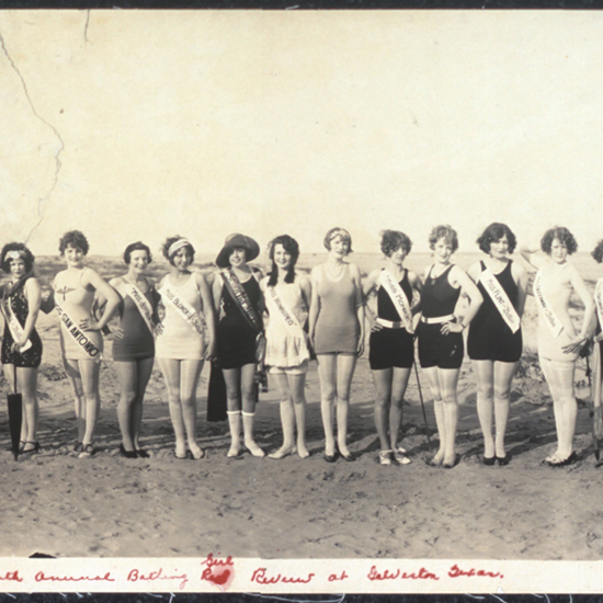 1920s beauty pageant