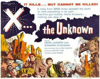 Movie Tuesday: X the Unknown (1956)