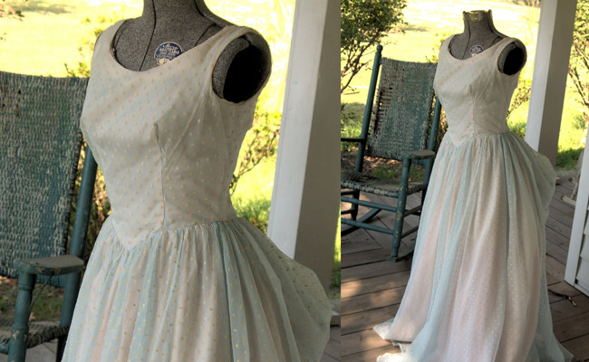 Fashion 1950s Vintage Prom Dress