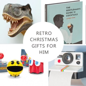 Gift Guide: Retro Christmas Gifts for Him