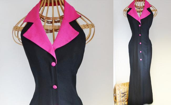 Vintage Designer Evening Dress by David Butler, Chartriver Ltd