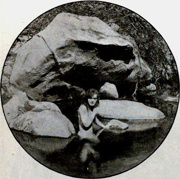 Nude Scene from The Branding Iron 1920