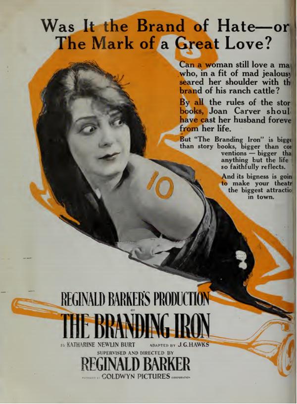 The Branding Iron 1920