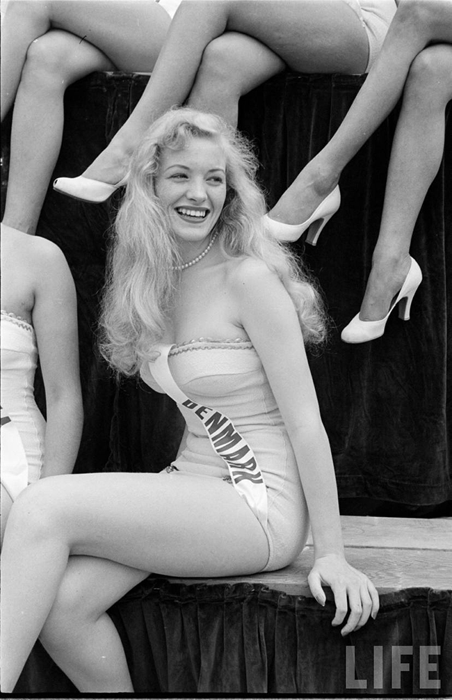 Miss Denmark at Miss Universe 1952