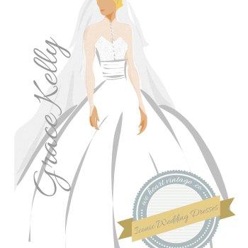 Iconic Wedding Dresses #3: Grace Kelly (1956)