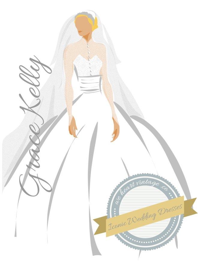 Iconic Wedding Dresses Grace Kelly