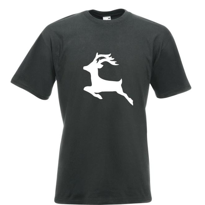 Mens Reindeer Christmas T-Shirt