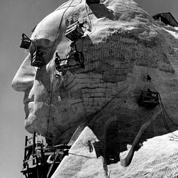 Building Mount Rushmore, 1940