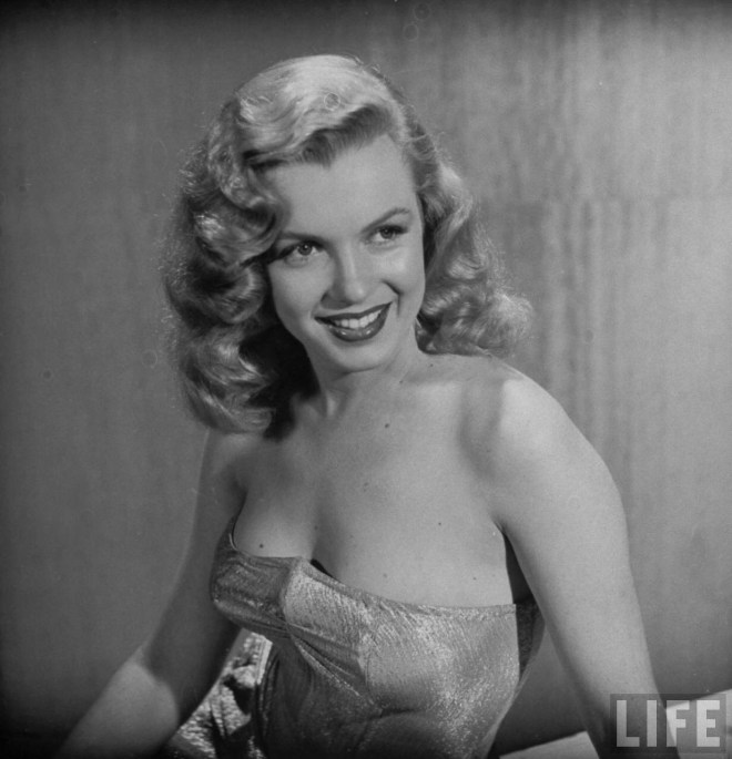 Marilyn Monroe before Plastic Surgery