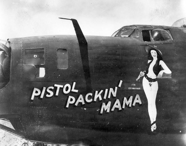 Pistol Packin Mama