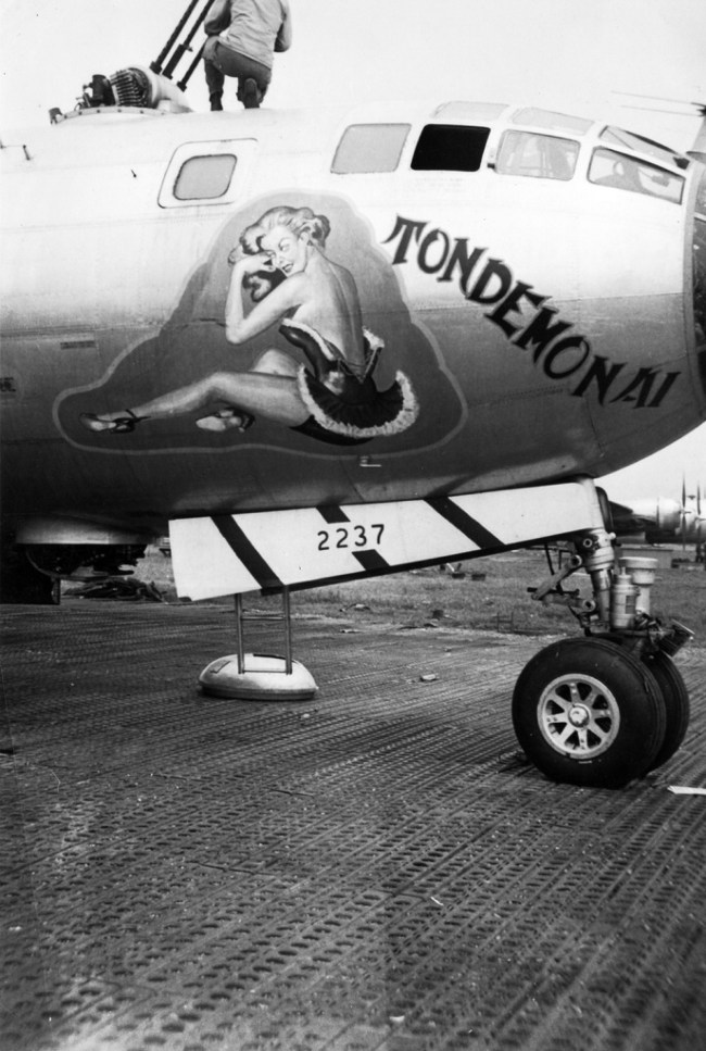 Plane nose art