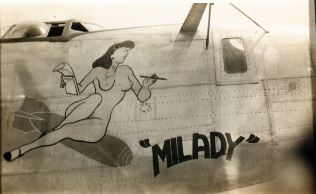 WW3 NOSE ART