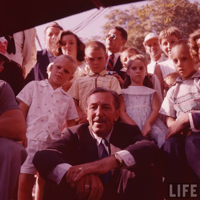 Vintage Disneyland photos 1950s