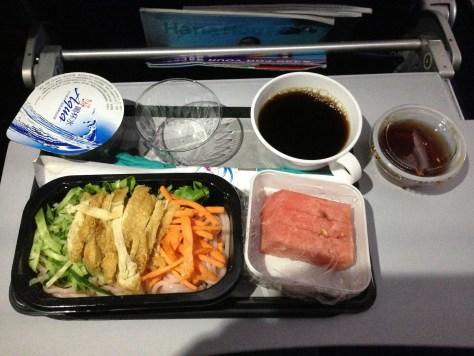 TPE->HNL素食第二餐