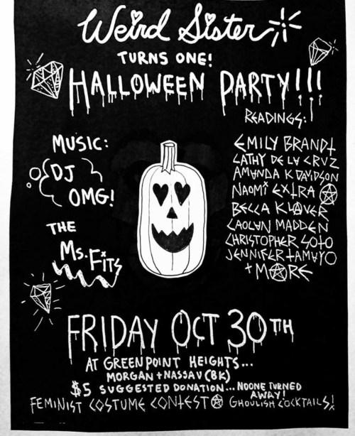 Weird Sister Halloween Party!!